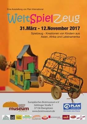 Ausstellung: WeltSpielZeug vom 31.03. – 12.11.17